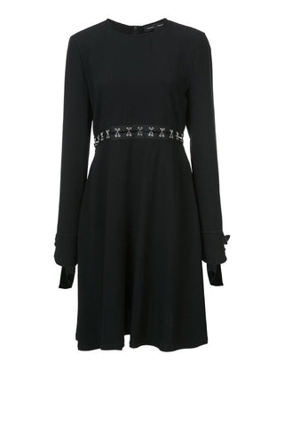 Proenza Schouler Mini Dress with Hooked Waist