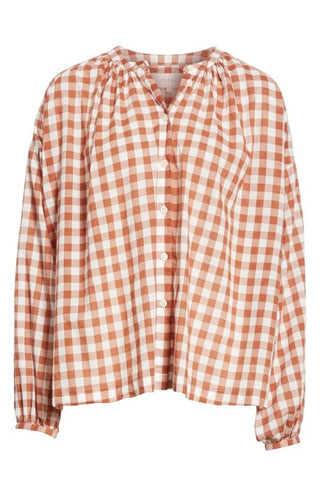 The Great The Handsome Button Up - Carob Check