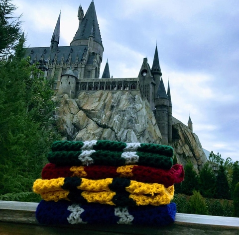 House Pride Cowls / Crocheted Cowls / School Colors Cowls