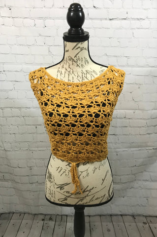 Lily Crochet Top / Lily Top / Crochet Top