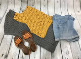 Easy Breezy Summer Cardi / Crochet Cardigan / Summer Cardigan