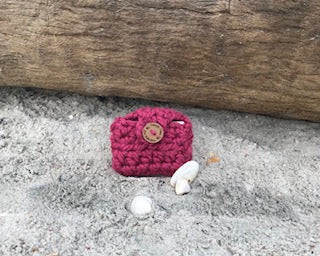 Lucy Mini Wallet / Crocheted Wallet