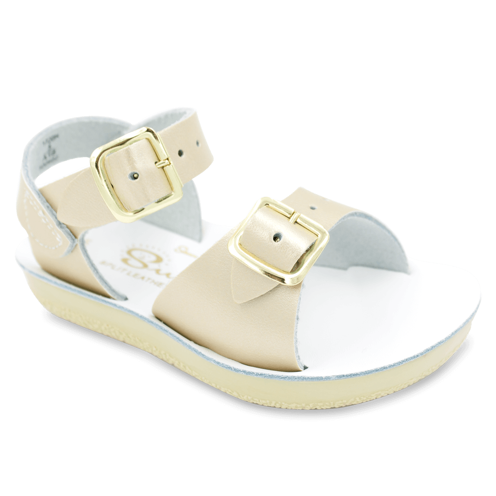 Surfer (Fashion Colours) - Kids-Sandal-Salt Water Sandals-Gold-Toddler 3-Salt Water Sandals Canada