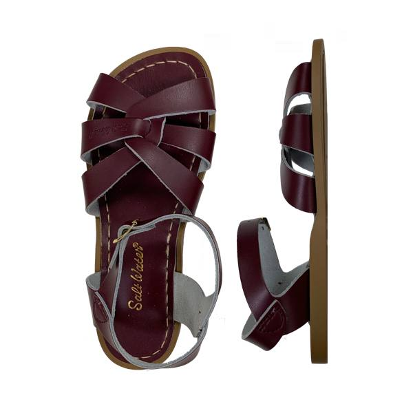 The Original - Women-Sandal-Salt Water Sandals-Claret-4 / US 6-Salt Water Sandals Canada
