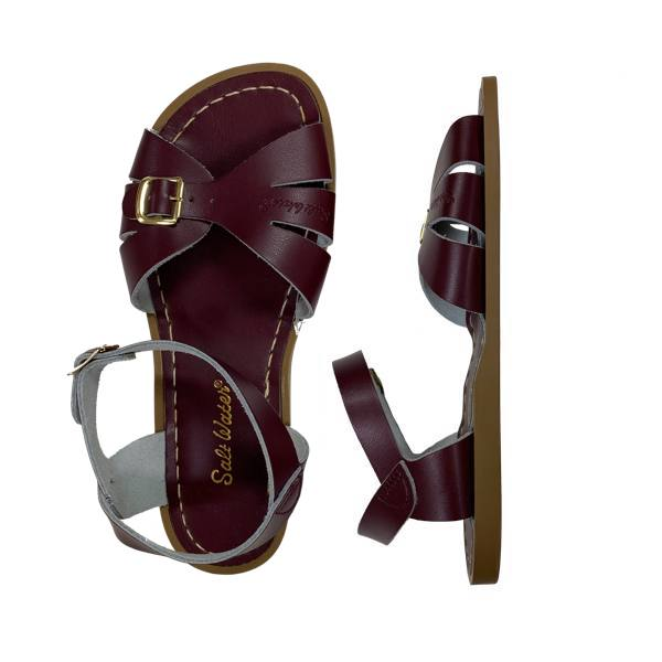 Classic - Women-Sandal-Salt Water Sandals-Claret-4 / US 6-Salt Water Sandals Canada