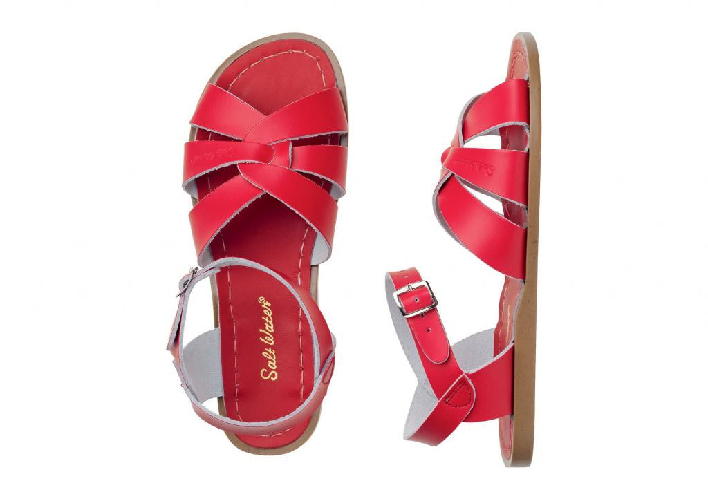 The Original - Women-Sandal-Salt Water Sandals-Red-4 / US 6-Salt Water Sandals Canada