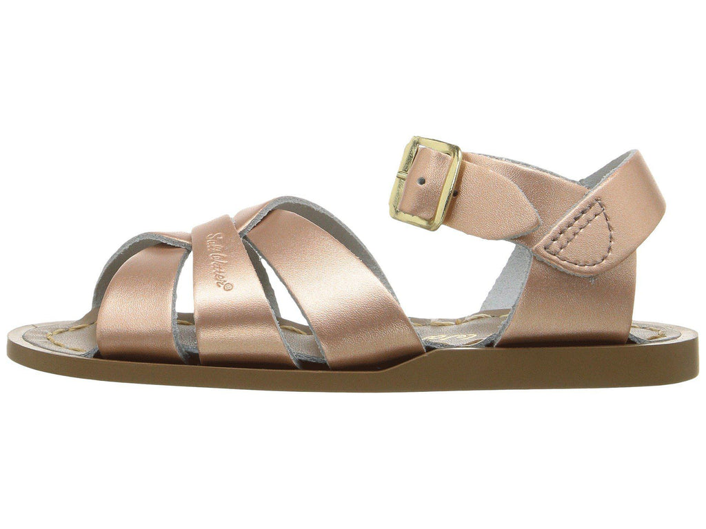 The Original (Fashion Colours) - Kids-Sandal-Salt Water Sandals-Rose Gold-Toddler 3-Salt Water Sandals Canada