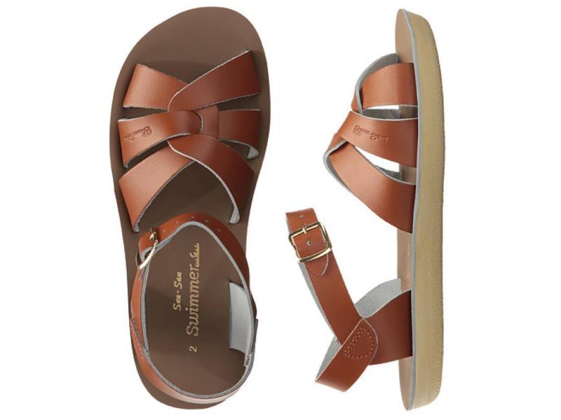 Swimmer-Sandal-Salt Water Sandals-Tan-Toddler 5-Salt Water Sandals Canada