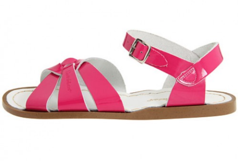 The Original - Kids (Sale)-Sandal-Salt Water Sandals-Shiny Fuchsia-Toddler 3-Salt Water Sandals Canada