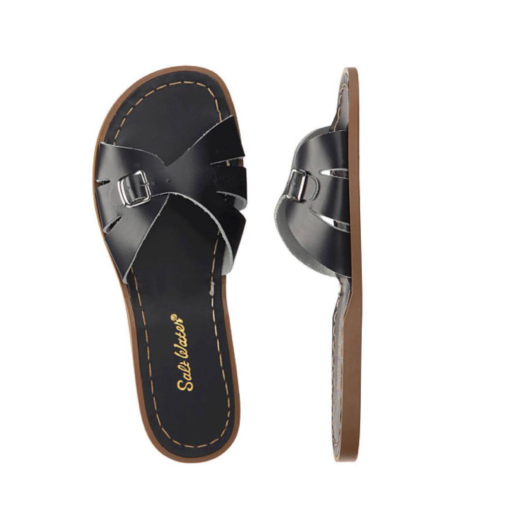 Classic Slide - Women-Sandal-Salt Water Sandals-Black-4 / US 6-Salt Water Sandals Canada