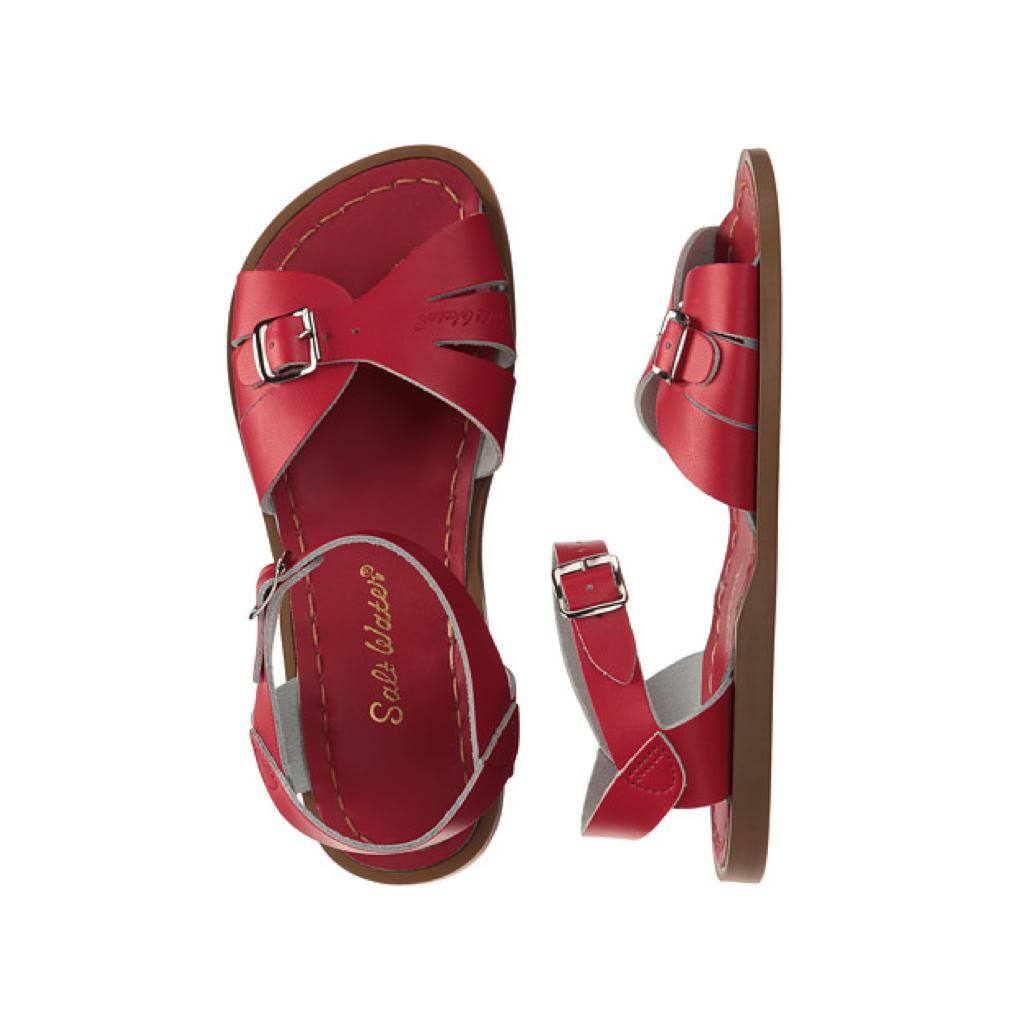 Classic - Women-Sandal-Salt Water Sandals-Red-4 / US 6-Salt Water Sandals Canada