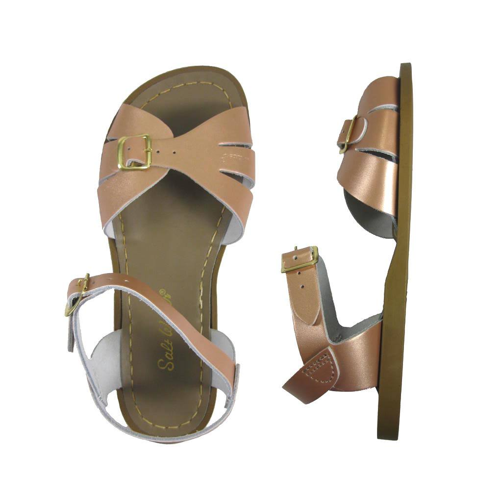 Classic - Women-Sandal-Salt Water Sandals-Rose Gold-4 / US 6-Salt Water Sandals Canada