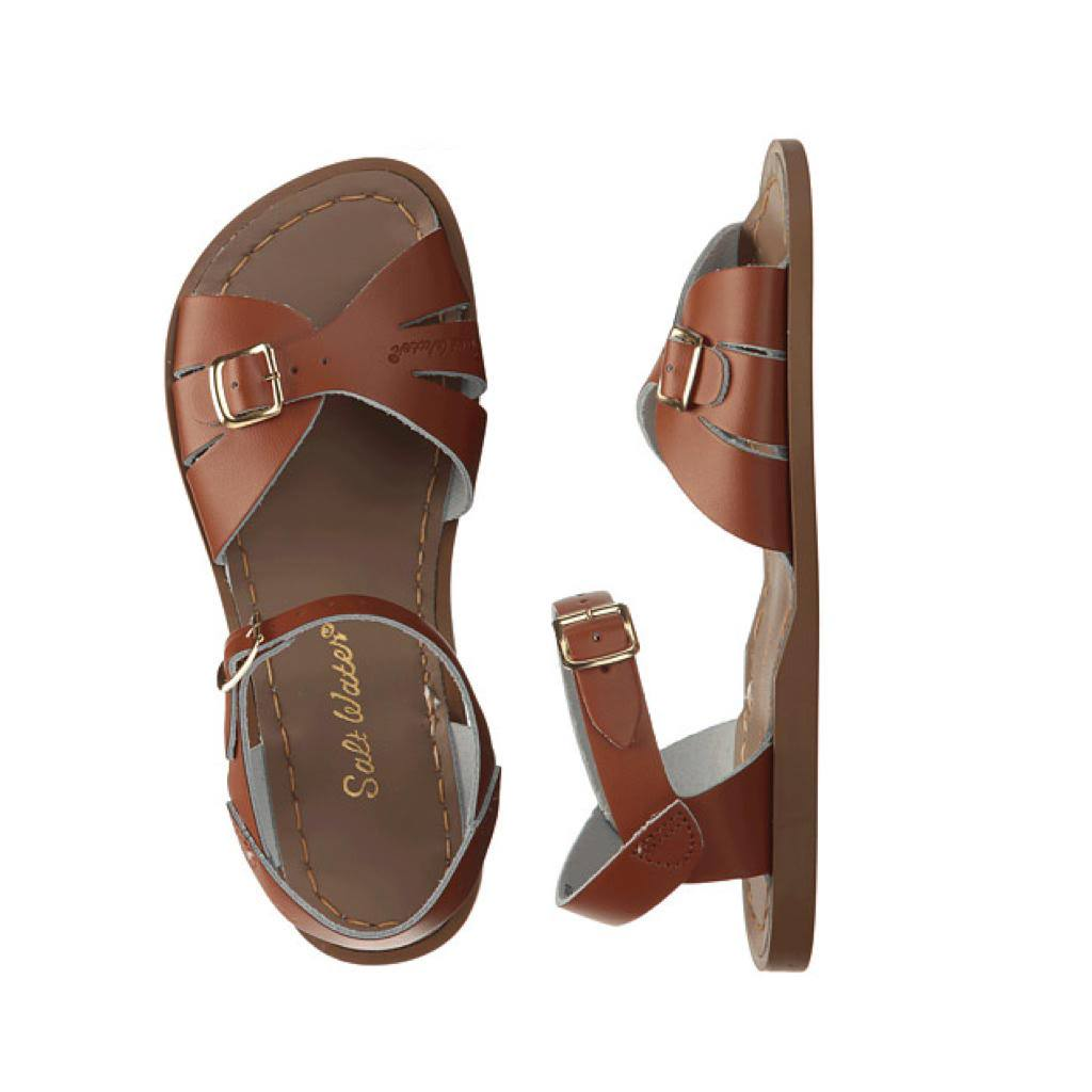 Classic - Women-Sandal-Salt Water Sandals-Tan-8 / US 10-Salt Water Sandals Canada