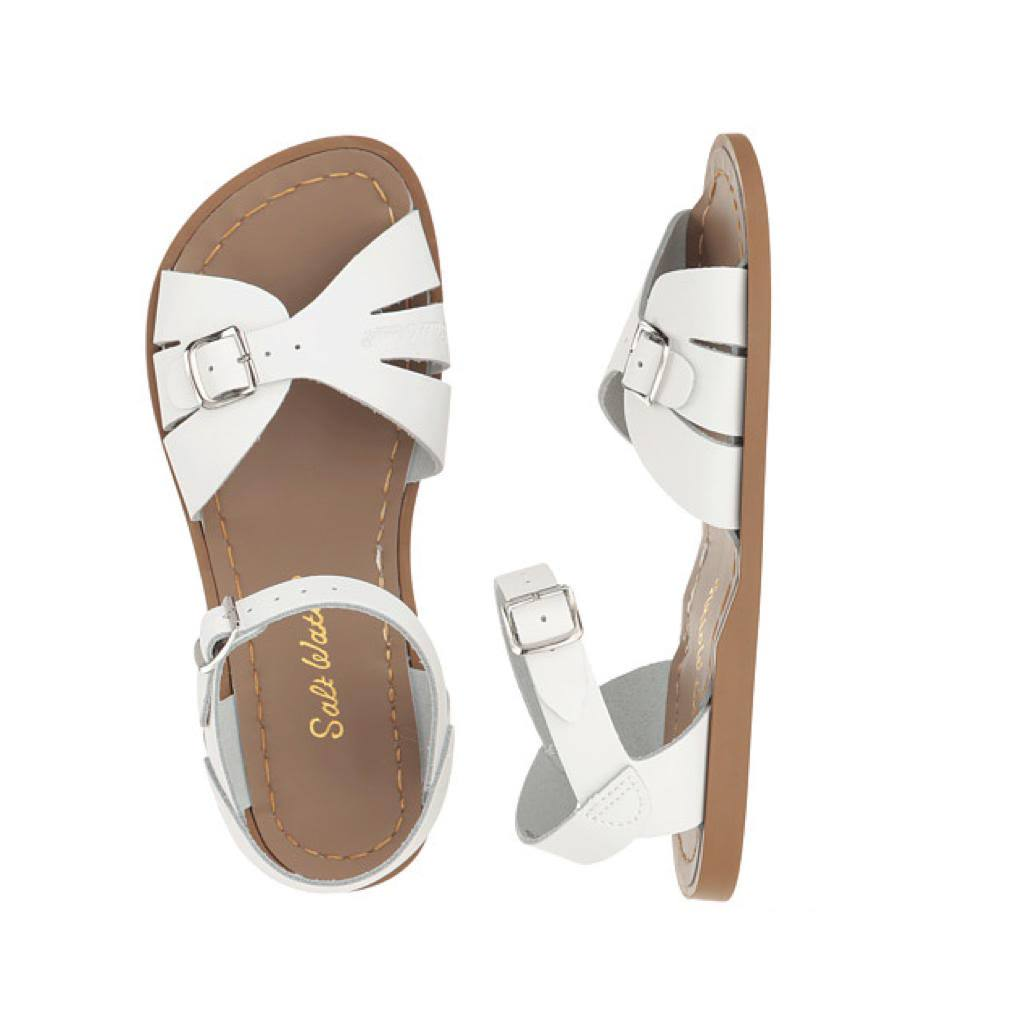 Classic - Women-Sandal-Salt Water Sandals-White-4 / US 6-Salt Water Sandals Canada