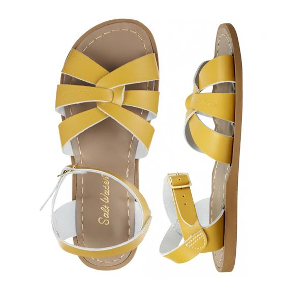 The Original - Women-Sandal-Salt Water Sandals-Mustard-4 / US 6-Salt Water Sandals Canada