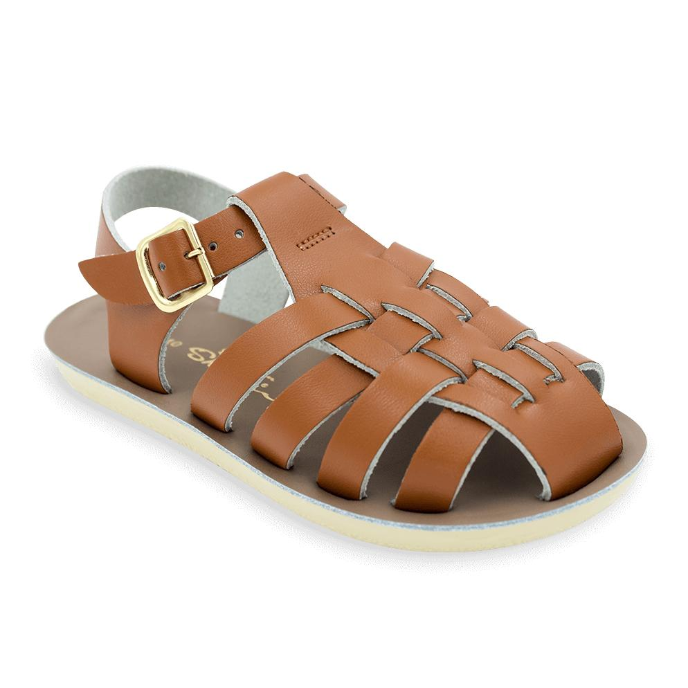 Sailor - Kids-Sandal-Salt Water Sandals-Tan-Toddler 5-Salt Water Sandals Canada