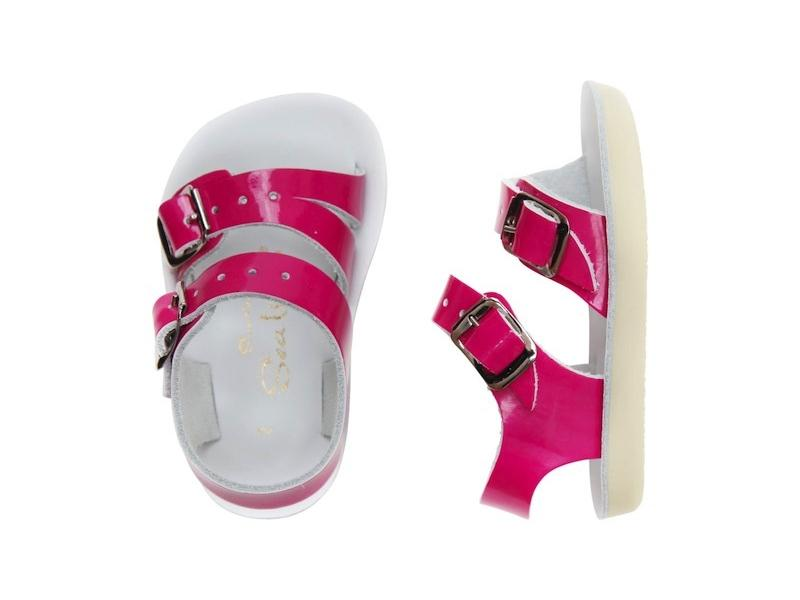 Sea Wees - Kids-Sandal-Salt Water Sandals-Shiny Fuchsia-Infant 1-Salt Water Sandals Canada