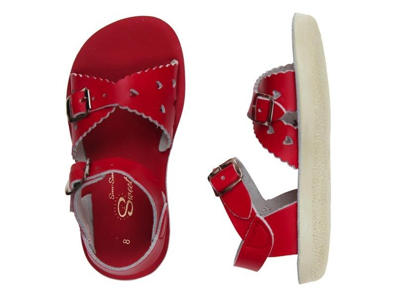 Sweetheart - Kids-Sandal-Salt Water Sandals-Red-Toddler 5-Salt Water Sandals Canada