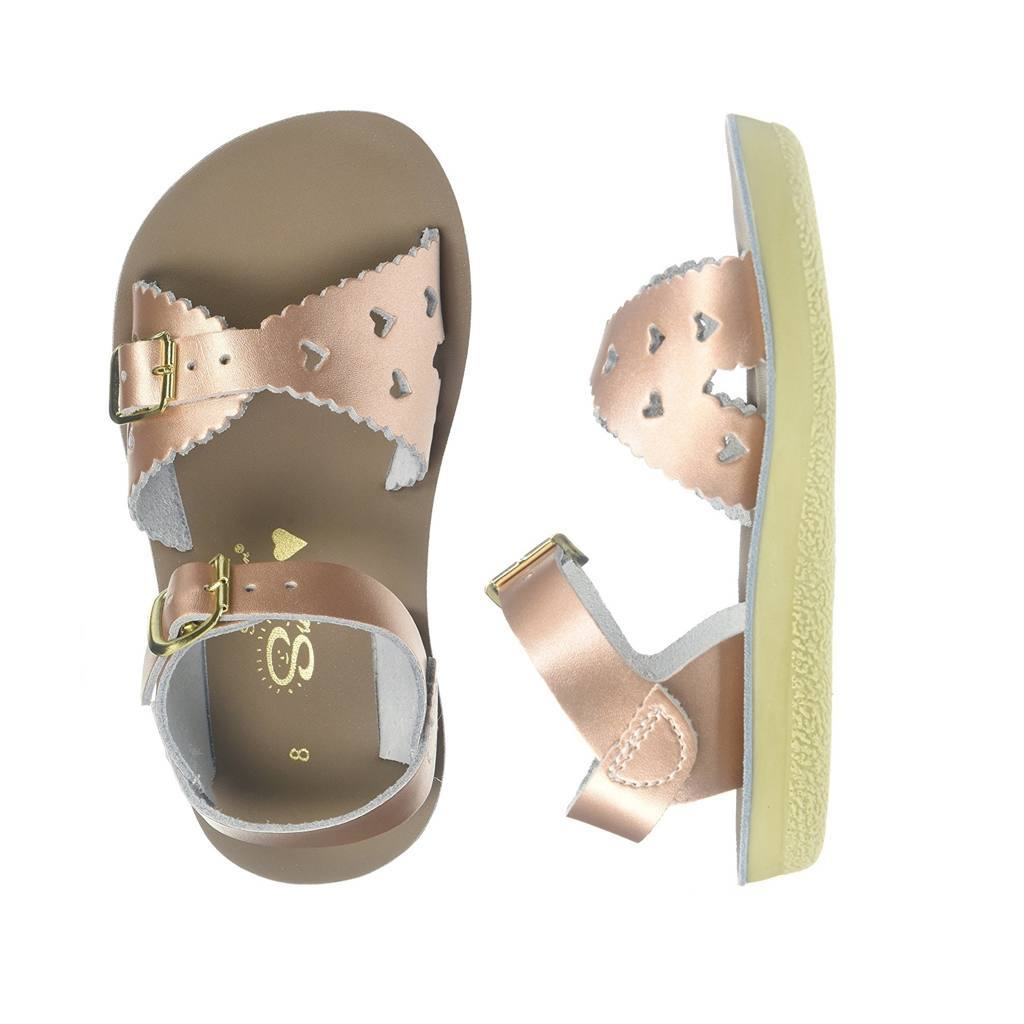 Sweetheart - Kids-Sandal-Salt Water Sandals-Rose Gold-Toddler 5-Salt Water Sandals Canada