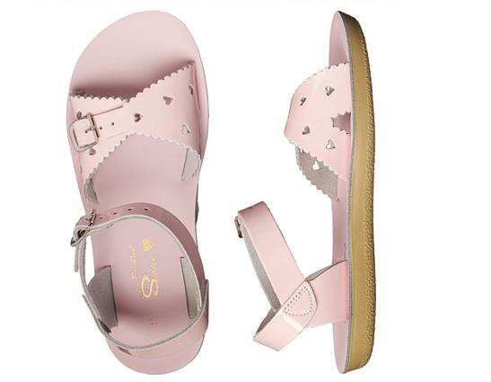 Sweetheart - Kids-Sandal-Salt Water Sandals-Shiny Pink-Toddler 5-Salt Water Sandals Canada