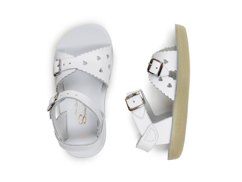 Sweetheart - Kids-Sandal-Salt Water Sandals-White-Toddler 5-Salt Water Sandals Canada