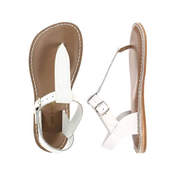 T-Thong - Women-Sandal-Salt Water Sandals-White-4 / US 6-Salt Water Sandals Canada