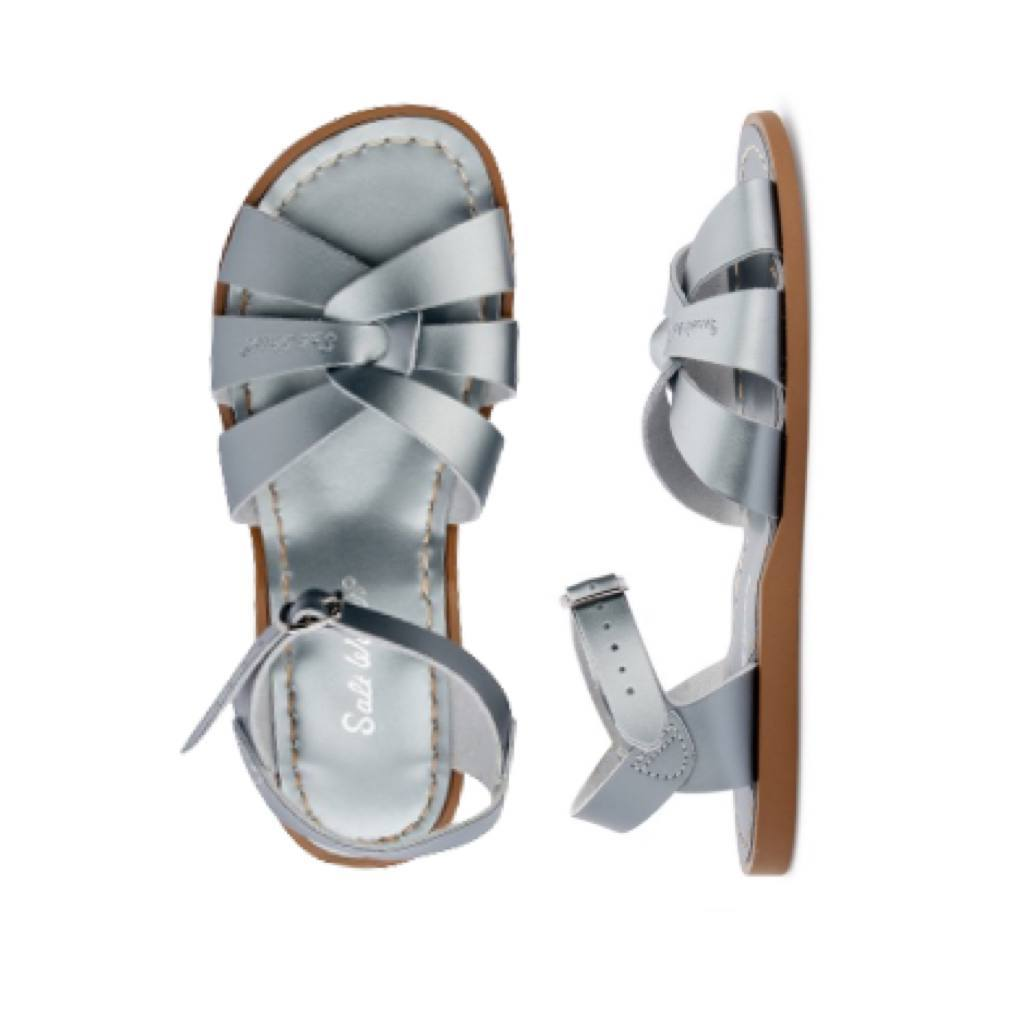 The Original - Women-Sandal-Salt Water Sandals-Pewter-4 / US 6-Salt Water Sandals Canada