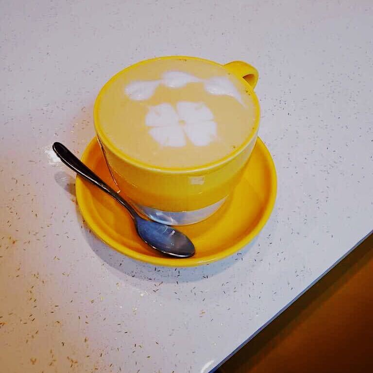 Goldenmilk Latte