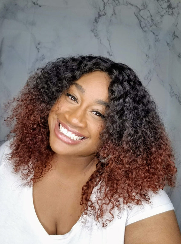 Cute Curly Ombre  - Budget Friendly Wig