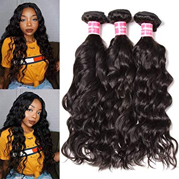 3 bundles natural wave  miami extensions
