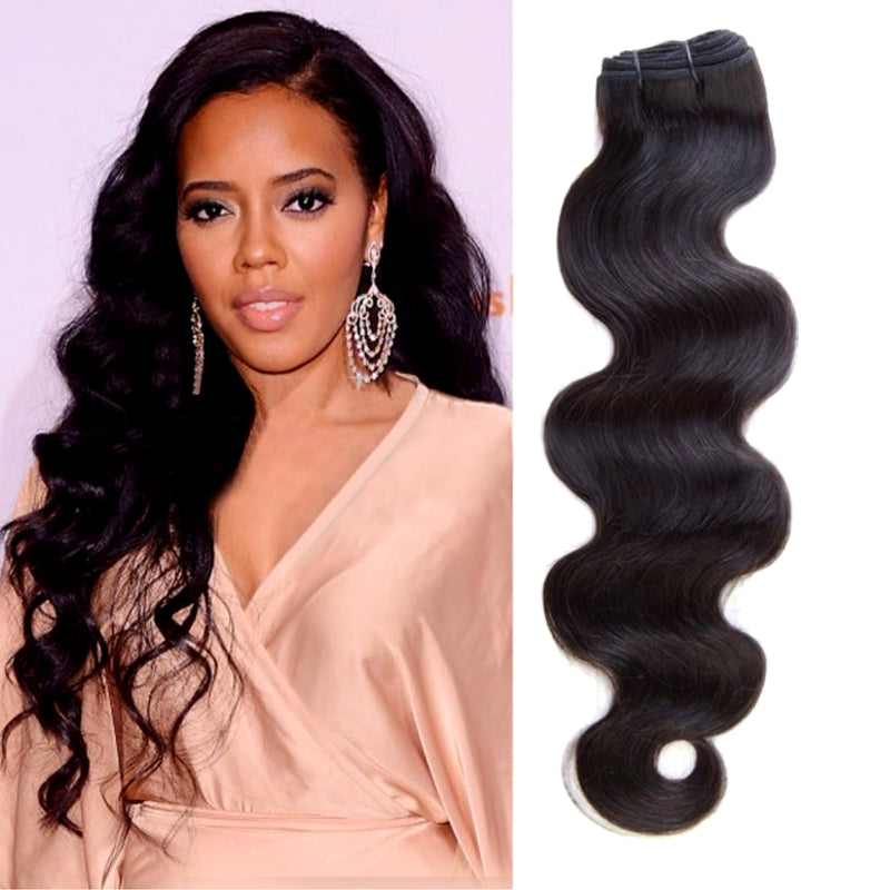 anglea Simmons wearing body wave hair, Miami extensions , black women wearing long wavy virgin hair , raw virgin hair , good quality hair