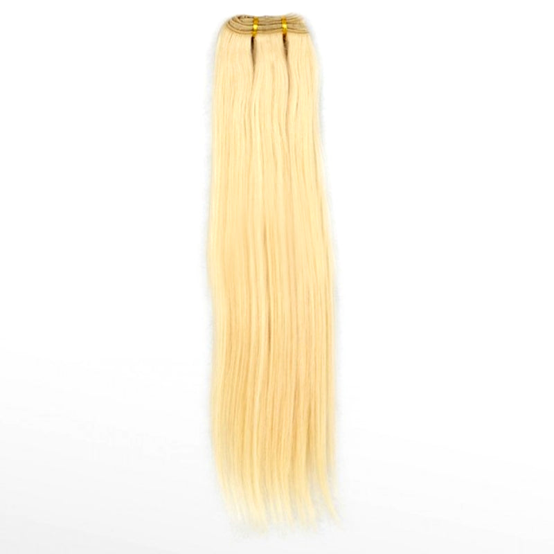 blonde 613 straight virgin hair , great for dying hair light and pastel colors, easy to use  hair weaving