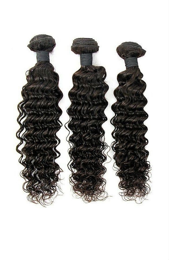 Virgin Deep Wave - Hair Bundle (3 pc)