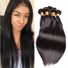 Virgin straight hair for black women