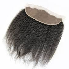 kinky straight hair, frontal 13 by 4  natural hair extensions for black women Miami extensions , black women wearing long natural virgin hair , raw virgin hair , good quality hair