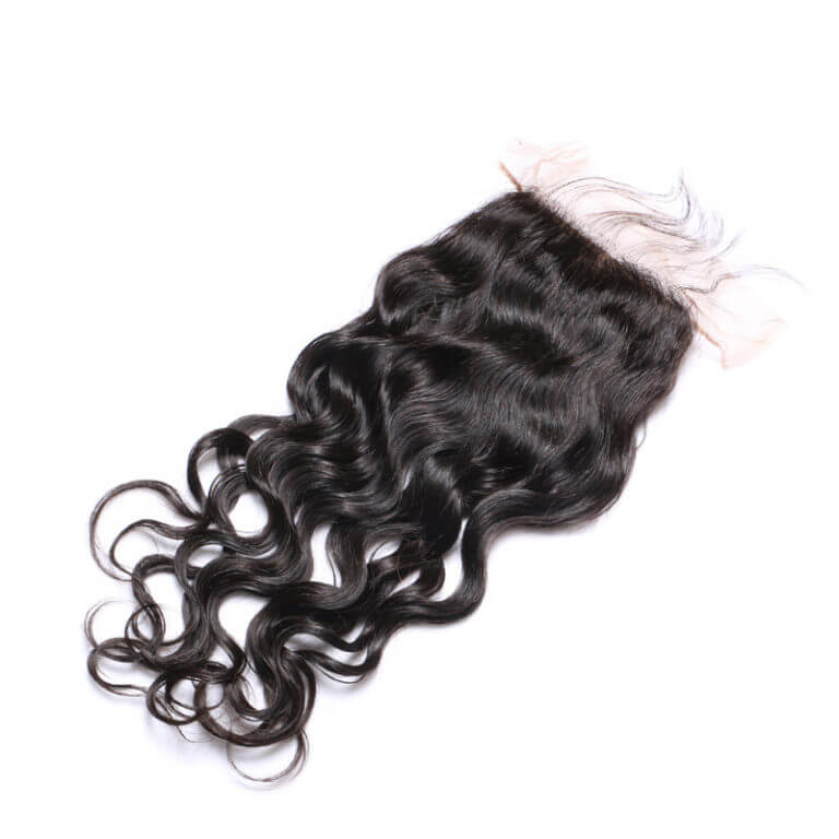 miami extensions virgin natural wave lace closure 5by5