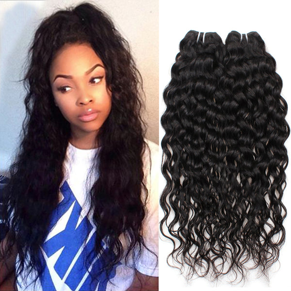 natural wave  hair extensions, Miami extensions  black women natural virgin hair , 2 bundles  good quality hair