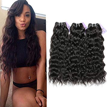beautiful african amercian women wearing virgin natural wave hair 3 pc bundle from mimi extensions