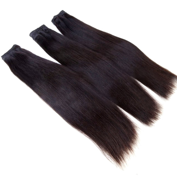 Virgin Straight Raw  - Hair Bundle (1pc)