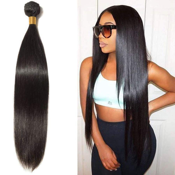 Virgin Straight    - Hair Bundle (1pc)