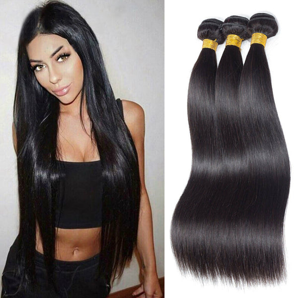 3 bundles straight hair, natural hair extensions,Miami extensions  black women natural virgin hair , raw virgin hair , good quality hair