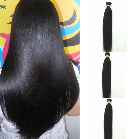 natural hair for black women 3 pc virgin yaki straight miami extensions