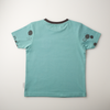 'On the Breeze' - Pocket tee - Teal/Anthracite - Our Little Tribe