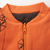 'Pods' - Reversible Bomber Jacket - Orange/Anthracite/Cream - Our Little Tribe