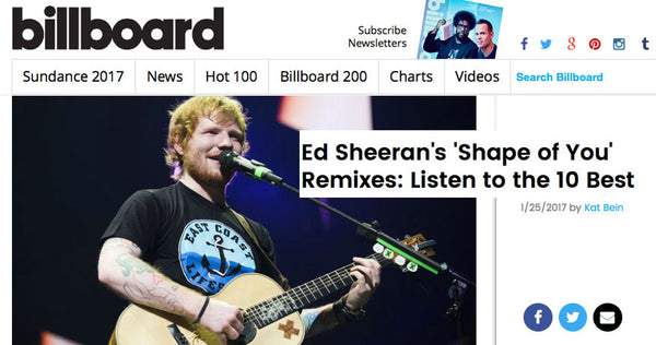 Featured: Billboard Music & Ed Sheeran