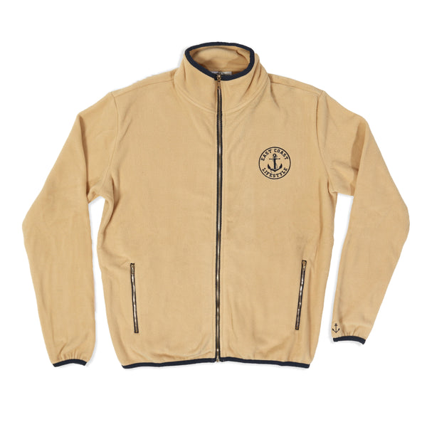 Classic Beige Fleece Jacket