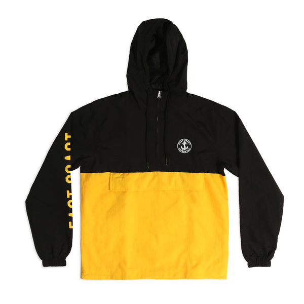 Black & Yellow Anorak Jacket