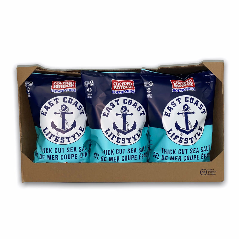12 Pack - Thick Cut Sea Salt Chips