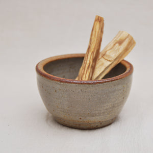 Stoneware Smudge Bowl