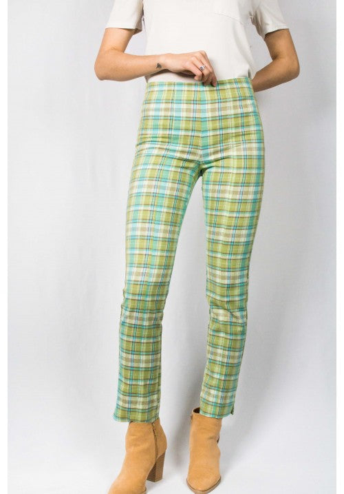 GREEN CHECKERED PANT